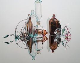 'Special Spirits' 150 x 180 cm.Oil on linen.2015.Julian   Meagher